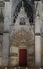 Porte principale de la Cathédrale Saint-Étienne - Auxerre