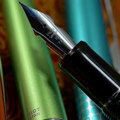 Pilot Custom Heritage 912 Fountain Pen - nib close-up