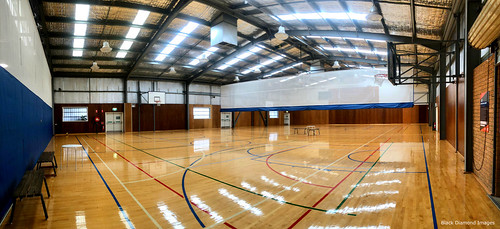 Sports Hall, Great Lakes Aquatic and Leisure Centre, Forster, Mid North Coast, NSW