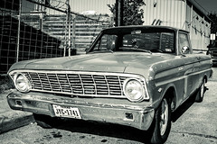 Ford Ranchero B&W