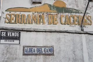 Prospección Aldea del Cano (Cáceres)
