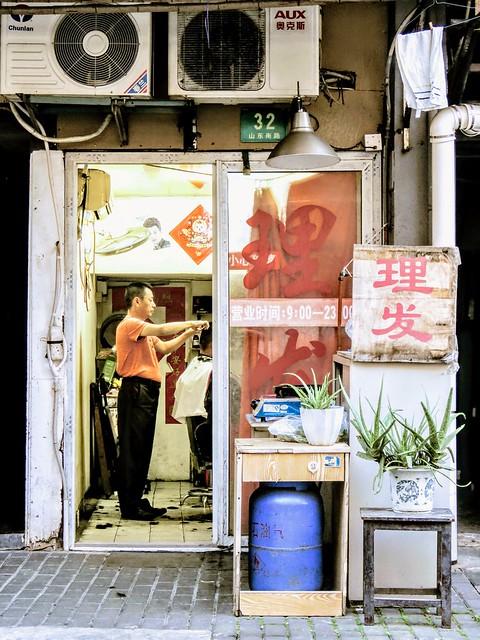 Barber shop, #Shanghai