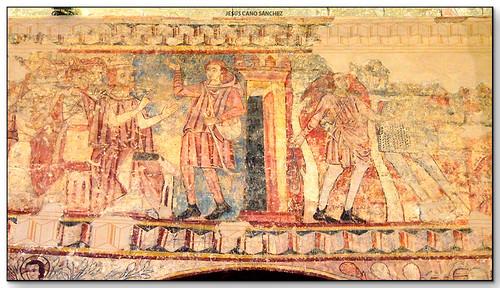 David i Goliat, Monasterio de San Pedro el Viejo, Huesca (Aragón, España)