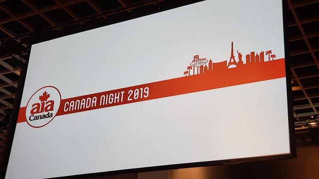 AIA Canada Night 2019