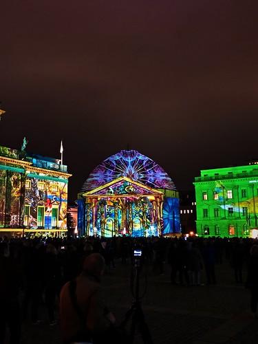 Festival of Lights 20:19 - The Bebelplatz (Saint Hedwig's Cathedral)