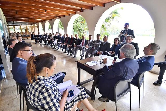06/11/2019 Reunião Ministro da Economia - Presidência do Senado