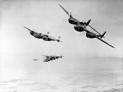 Bilstein_00976  Lockheed P-38F formation over southern California (NASA)