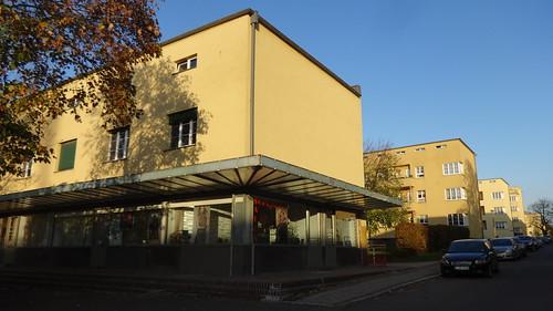 1929/30 Leipzig Rundlings-Wohnanlage 624WE von StBR Hubert Ritter Siegfriedplatz/Nibelungenring in 04279 Lößnig