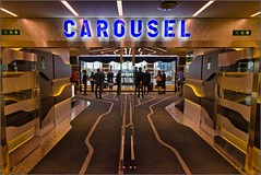 MSC Grandiosa - DECK 7 - Entrance to CAROUSEL (Aft Ship) - Cirque du Soleil