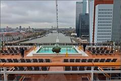 MSC Grandiosa - DECK 18 - Looking aft Horizon Pool and Rotterdam