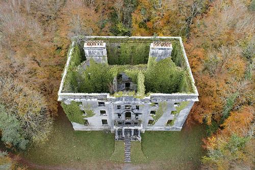Autumn desolation, Moore Hall, County Mayo