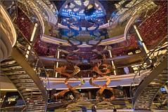 MSC Grandiosa - DECK 7 - View of Grand Atrium