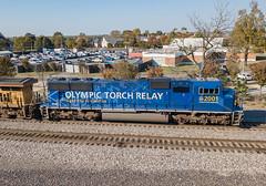 UP 2001 (SD70M) Train:MNLCN-4 Memphis, Tennessee