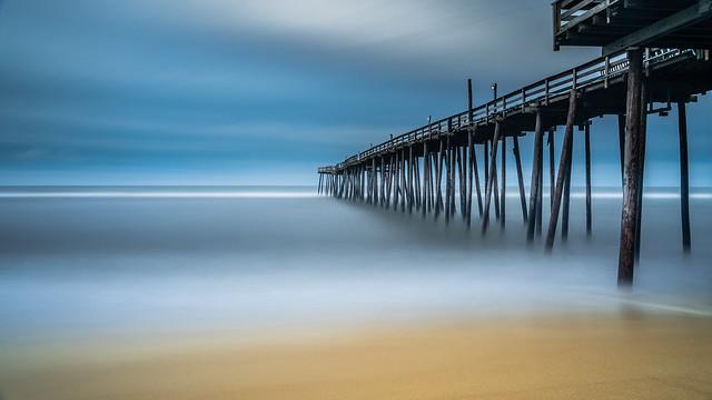 Tout est plus calme à la plage