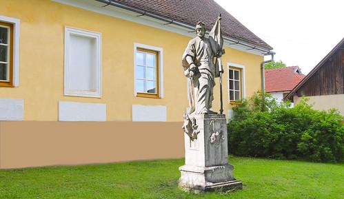 Deinzendorf. Hl.Florian, um 1860 - Historismus
