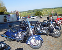 Indian and Harley-Davidson - Photo of Pouilly-sur-Loire