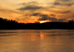 The wednesday sunset