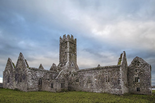 Ross Errilly Friary, Galway, Ireland.