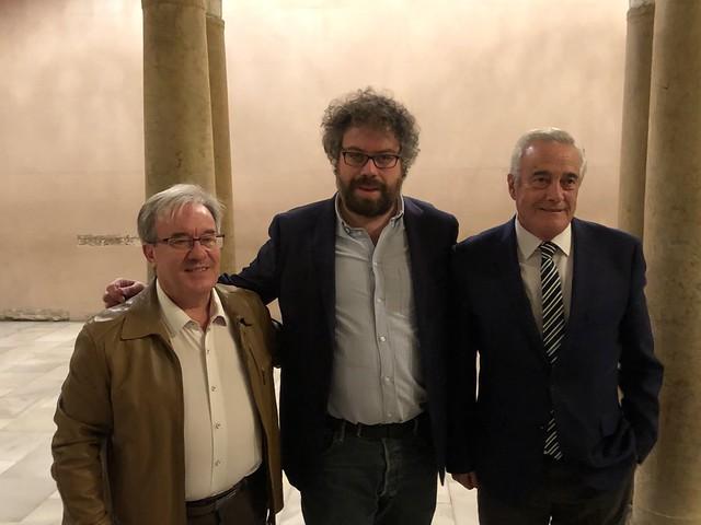 Conversaciones en la Aljafería con Sergio del Molino