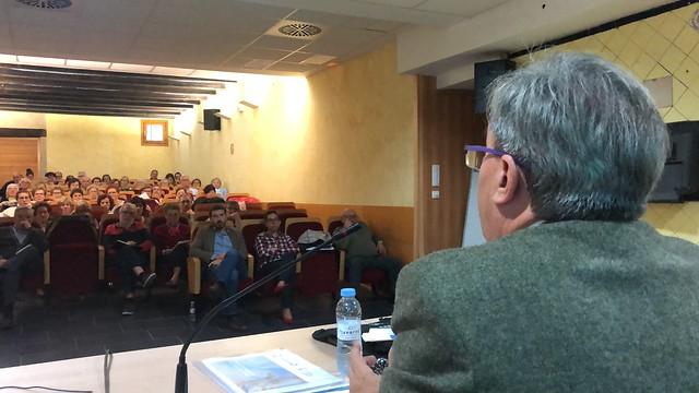 Charla del Justicia en la Universidad de la Experiencia en Alagón