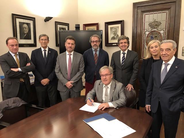 Foro de Derecho Aragonés 2019 Firma convenio