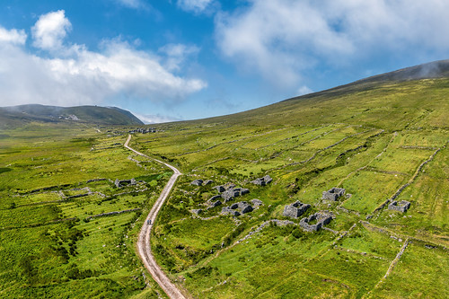 """The Deserted Village of Slievemore"""