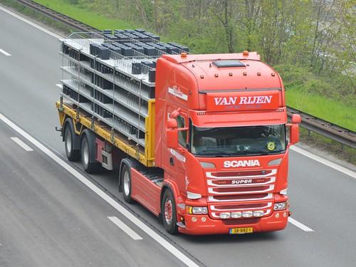 Nl-Van Rijen Transport-Scania Streamline TL