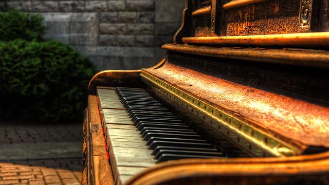 Piano de rue