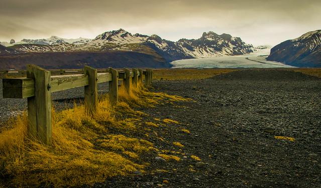 Vers le glacier