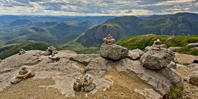 Charlevoix à mille mètres d altitude