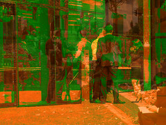 Office Workers London Two Hue and Translucency