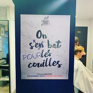 Notre dernière campagne pour @the_barber_lodge_rennes et l'association #movember !