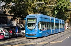 #4 Modern Tram in Zagreb