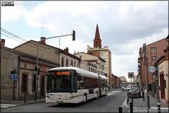 Heuliez Bus GX 427 BHNS – Tisséo n°1363 - Photo of Auzielle