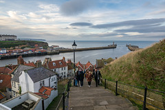 Whitby from the Abbey Steps
