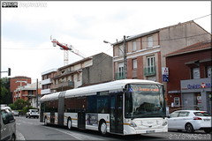 Heuliez Bus GX 427 BHNS – Tisséo n°1365 - Photo of Sainte-Foy-d'Aigrefeuille