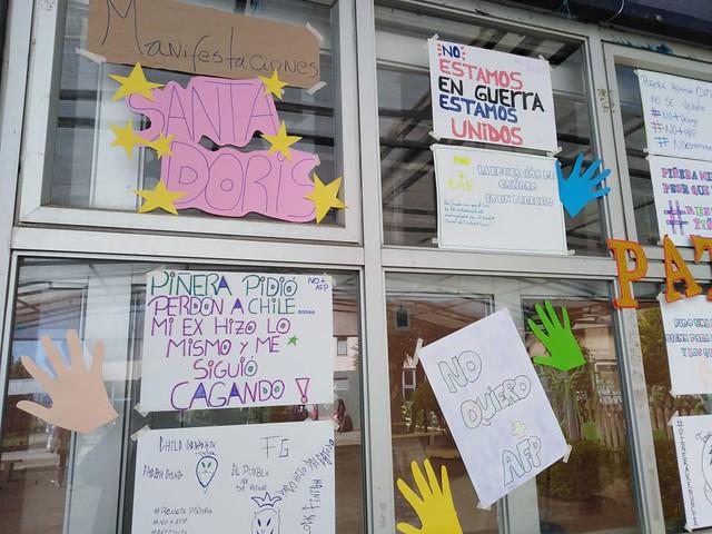 Manifestación Pacífica y Pedagógica