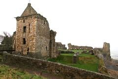 St Andrews Castle, Main gatehouse tower