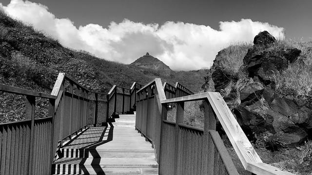 Escalier de randonnée