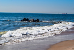 Atlantic Ocean, Coney Island, Brooklyn, NYC