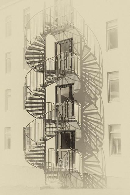 Escalier diaphane