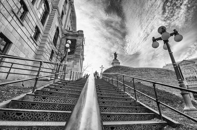 L'escalier vers les cieux
