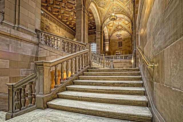 Escalier de château
