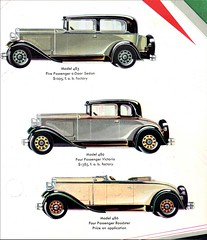 1930 Nash 400 Series Twin Ignition Six