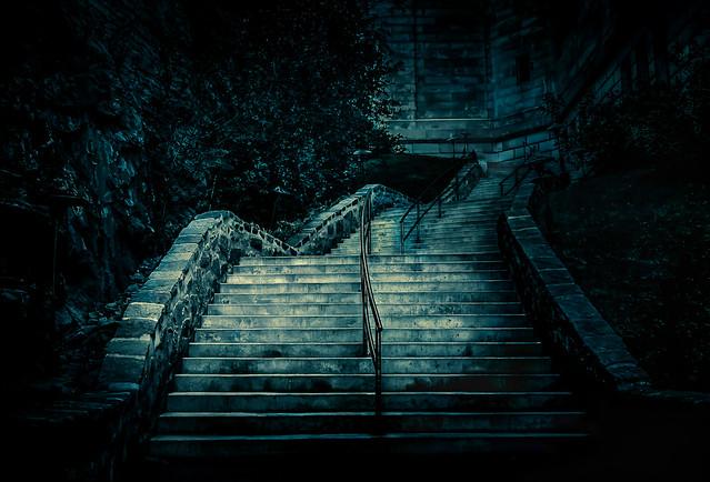 L'escalier du chanoine