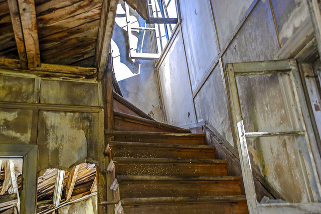 L'escalier fantôme