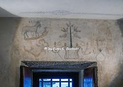 San Marino [RSM], 2019, Le tre torri. Disegni tracciati dai prigionieri.