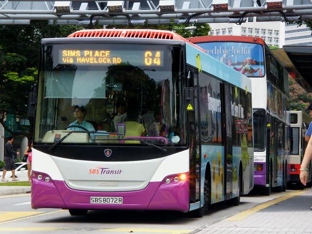 Scania K230UB | Gemilang | SBS Transit | SBS 8072 R
