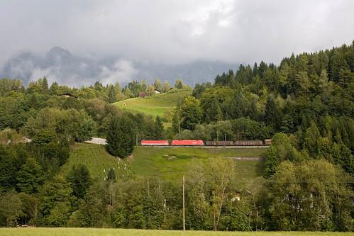 ÖBB 1144 + 1116 282 + Güterzug/goederentrein/freight train  - Leogang