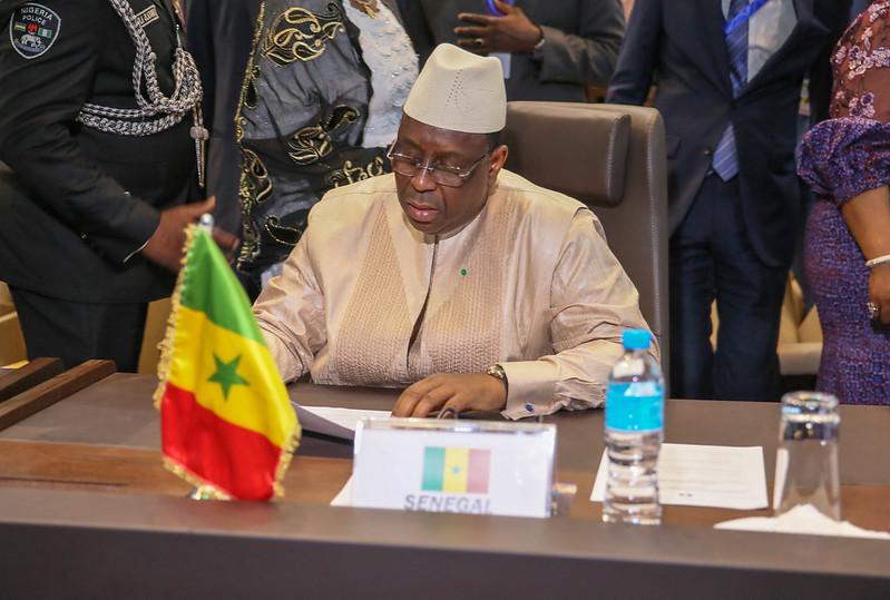 Session Extraordinaire de la conférence des chefs D'Etats et de gouvernement sur la Guinée Bissau